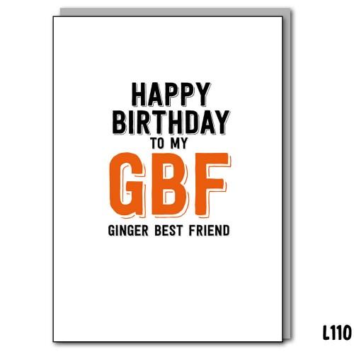 Ginger Best Friend