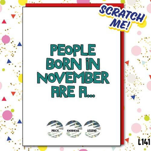 Legend November