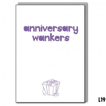 Anniversary Wankers