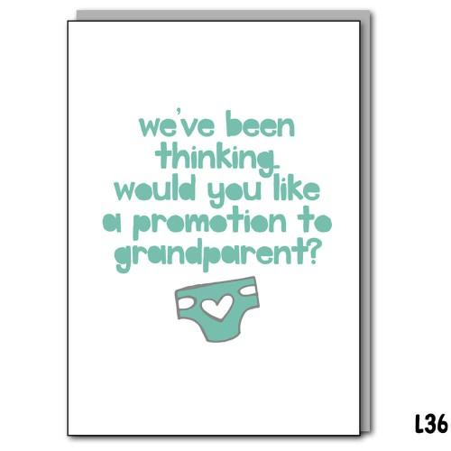 Promotion Grandparent