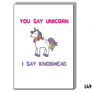 You Say Unicorn