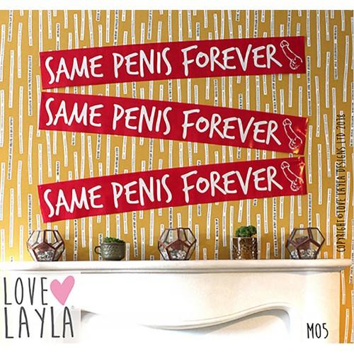 Same Penis Forever Banner