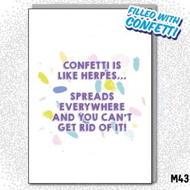 Confetti Herpes