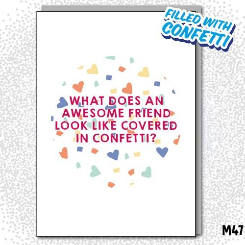 Friend Confetti