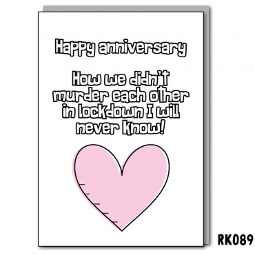 Anniversary Kill Each Other