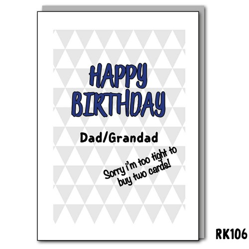 Happy birthday Dad & Grandad