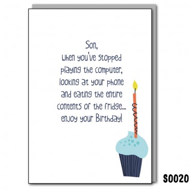Son's Birthday