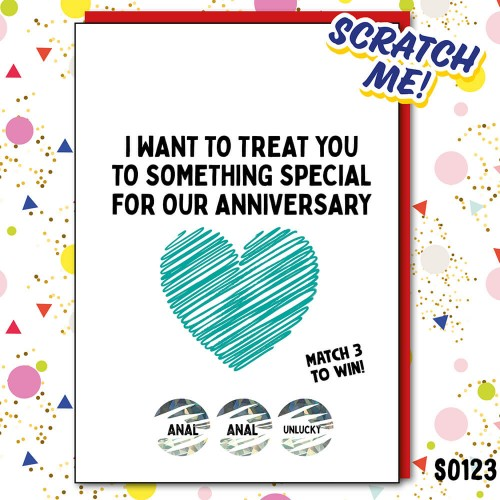 Anal Scratchcard Anniversary