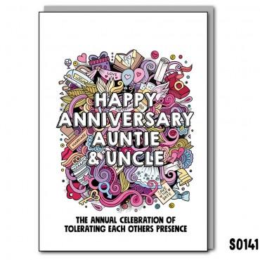 Anniversary Auntie & Uncle