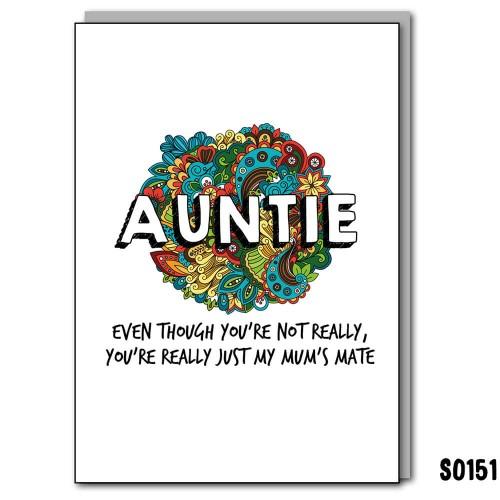 Mum's Mate Auntie
