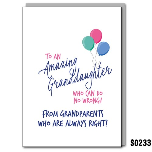Amazing Granddaughter