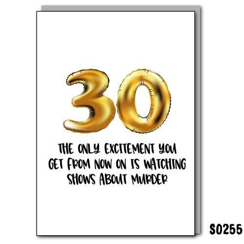30 Excitement