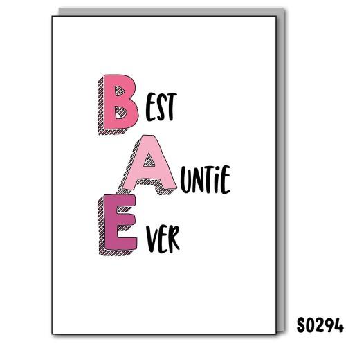 BAE Best Auntie Ever