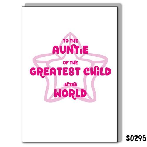 Greatest Child Auntie