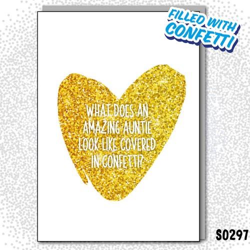 Auntie Covered Confetti