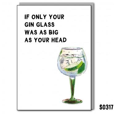 Massive Gin Glass