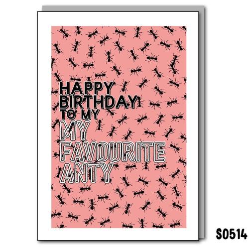 Anty Birthday