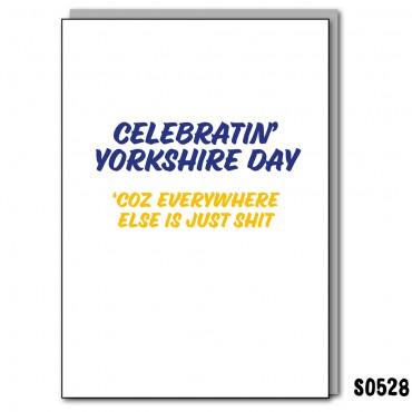 Celebrating Yorkshire Day