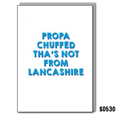 Chuffed Lancashire