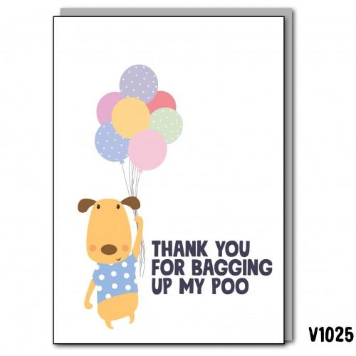 Dad Bagging Poo