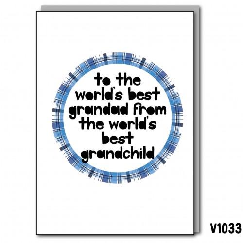 Best Grandad Grandchild