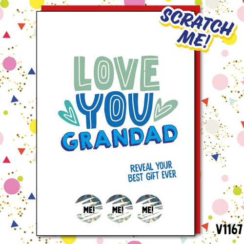 Love Grandad Scratch Card