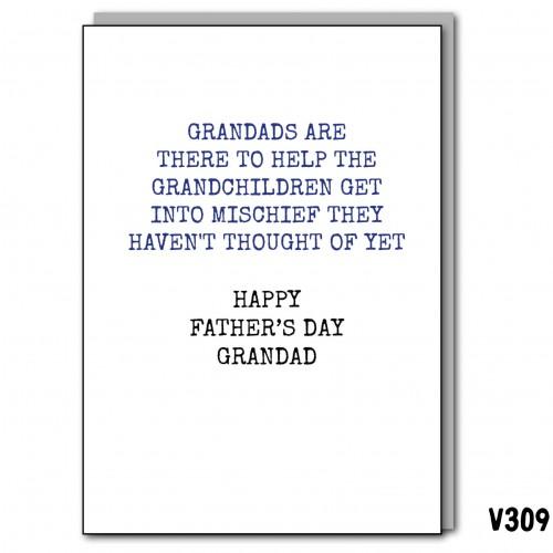 Grandad Mischief FDay