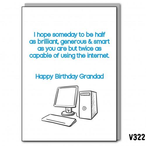 Internet Grandad Bday