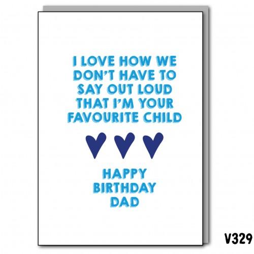 Birthday Dad Fave