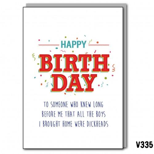 Birthday Dickheads