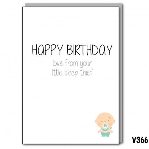 Birthday Sleep Thief