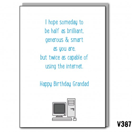 Grandad Internet Birthday