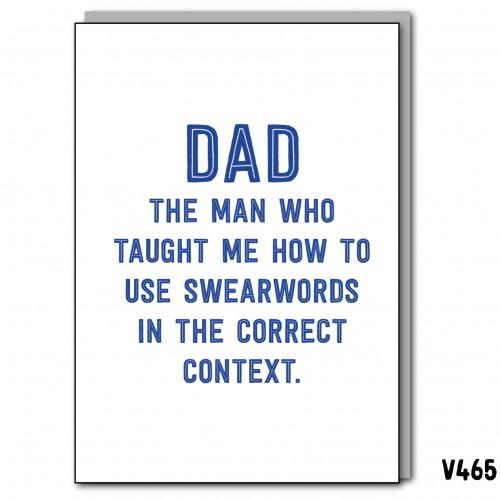 Swearwords Dad