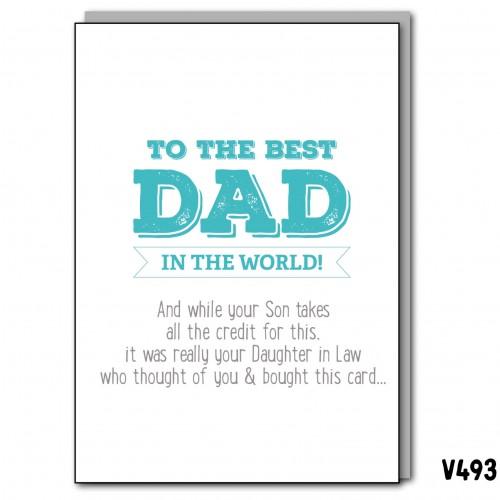 Dad DIL Birthday