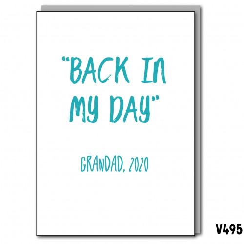 Grandad Back Day