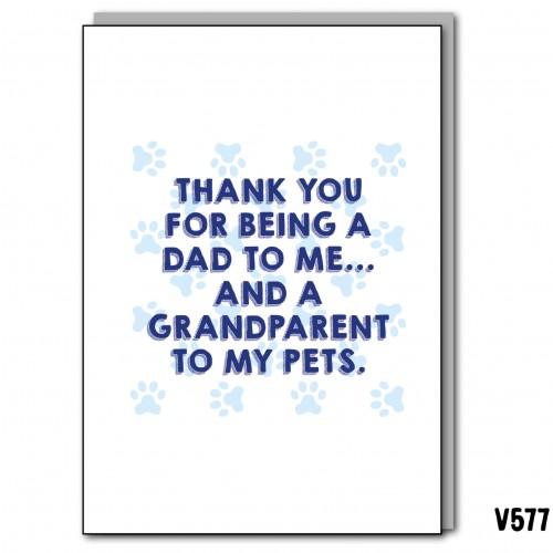 Dad Grandparent Pets