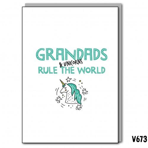 Unicorns & Grandad