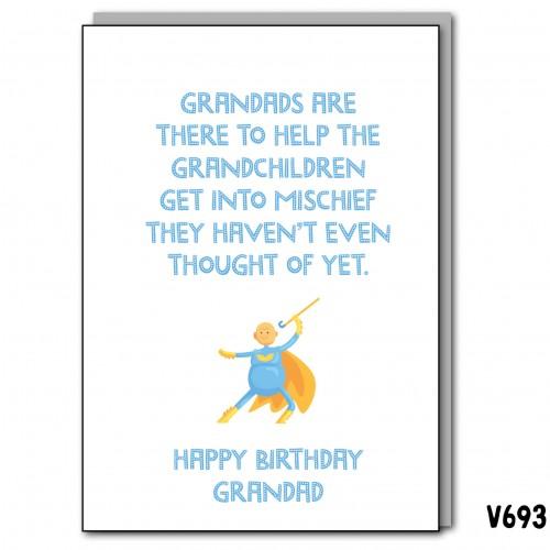 Grandad Birthday Mischief