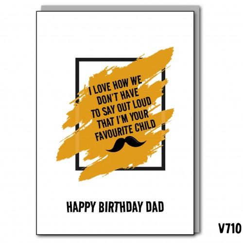 Birthday Fave Child Dad