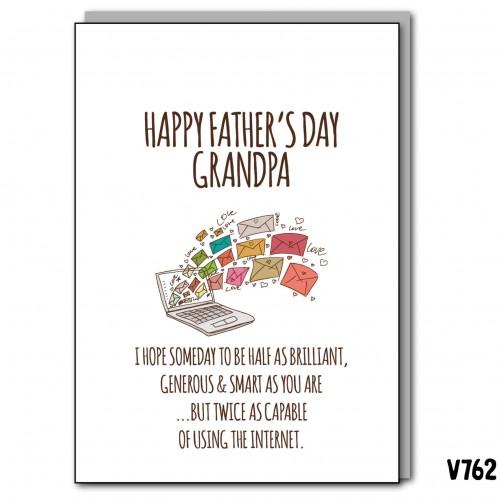 Grandpa Internet Father's Day