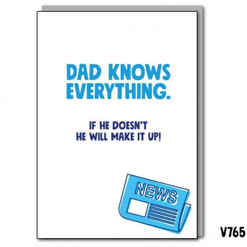 Dad Knows it