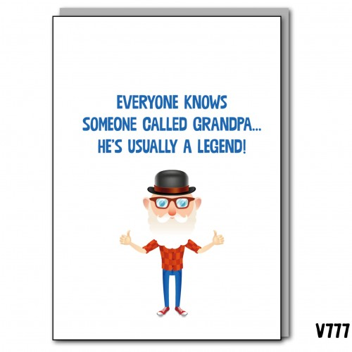 Legend Grandpa