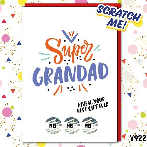 Super Grandad Scratch Card