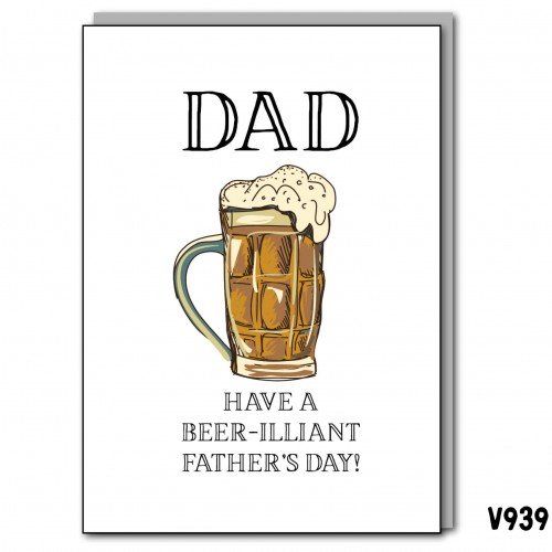 Beer-iliant Father's Day