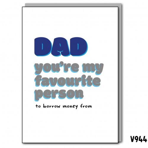 Borrow Money Dad