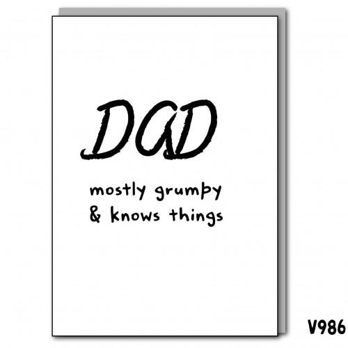 Dad Grumpy Knows