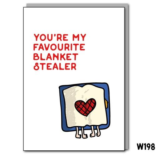 Blanket Stealing