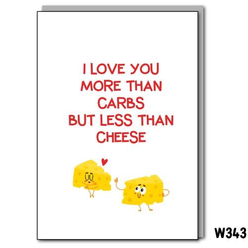 Carbs Cheese