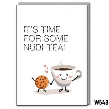 Nudi-Tea Card