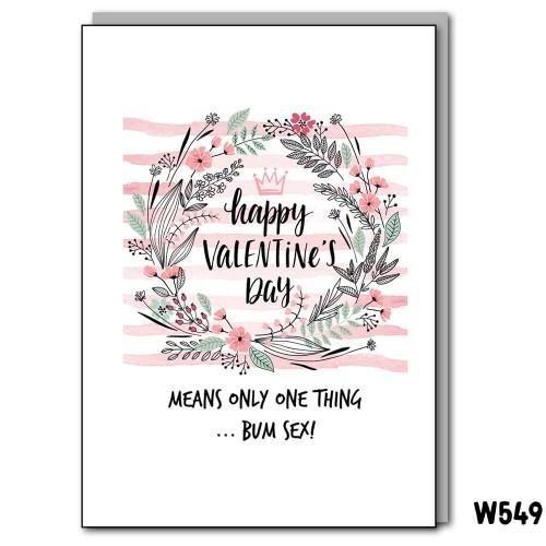 Bum Sex Valentine's